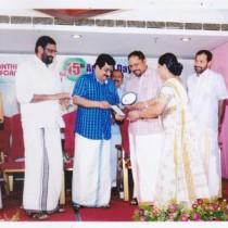 Award by Santhi Medical Information Centre