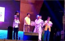 Kairali Award to Padma Shri Dr. Sundar Menon by its chairman Mega Star Mammooty