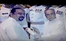 Dr Sundar Menon at Padma Shri Award Function