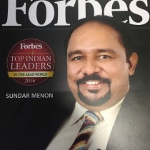 Forbes Magazine Top Indian Leaders in the Arab World 2016