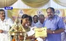 Dr Sundar Menon Distributing Educational Scholarship by by Samastha Nair Samajam