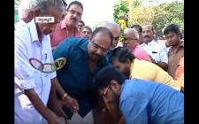 "Dr Sundar Menon Attending ""Thrissur Pooram Bhoomi Pooja And Kaal Naattu Karmam"""